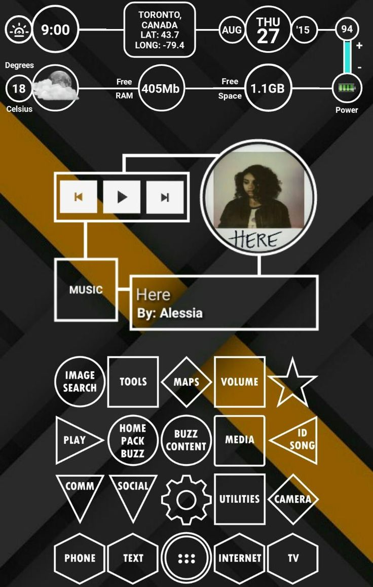 [Homepack Buzz] Check out this awesome homescreen! Vin Sharma Scattered - Made by Vin