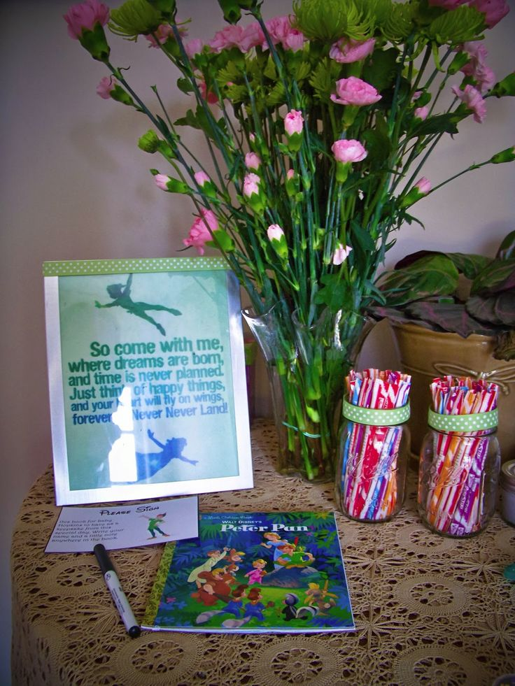 144 best peter pan/lost boys baby shower images on Pinterest ...