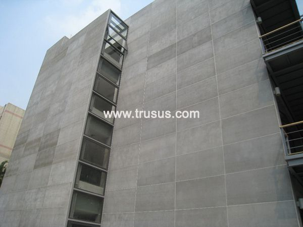 Fireproof Insulation Material Exterior Interior Wall Cement Coated Insulation Board