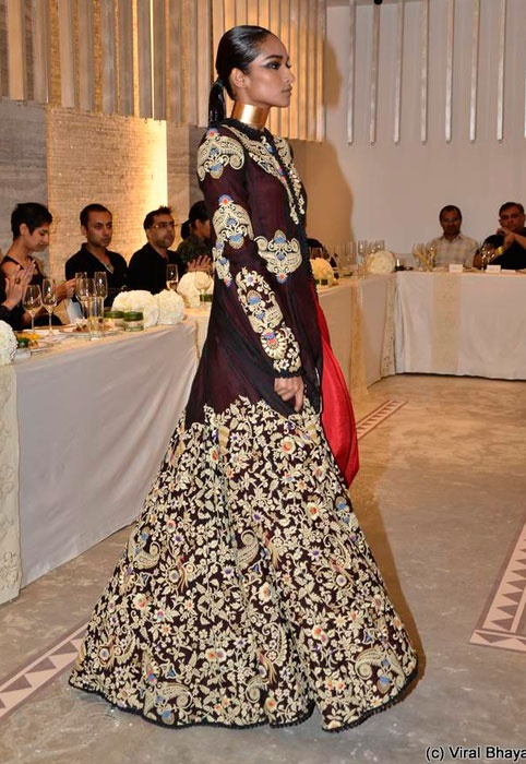Anamika Khanna at Delhi Couture Week 2012 #indianwedding