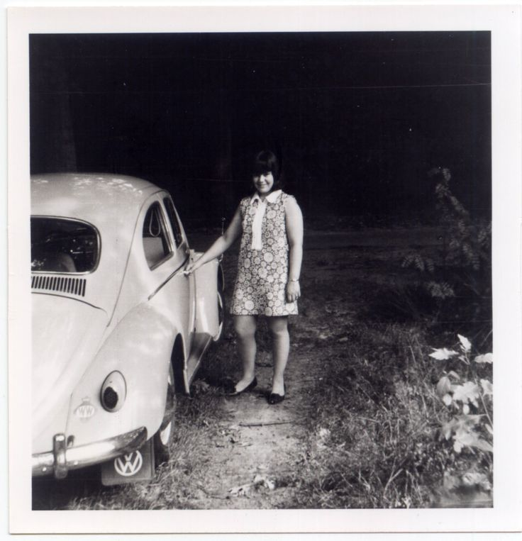 From the family album. Photo dated 11-03-1969. #VW #Beetle #vintage #Realvintage #DT-46-03