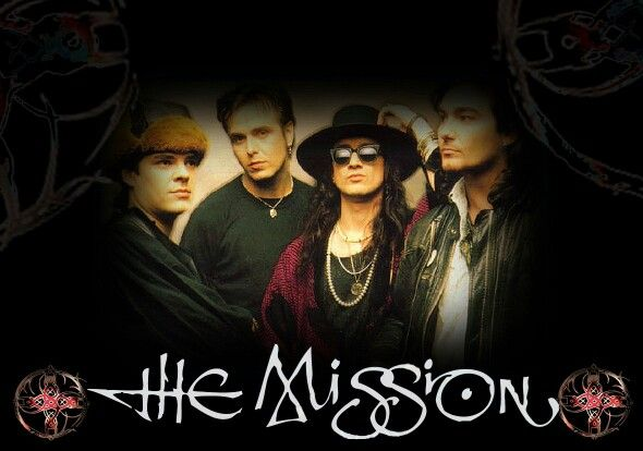 The Mission UK - Wayne Hussey another guilty pleasure over the years . I've always kept & carry the faith Wayne ! Thank you !