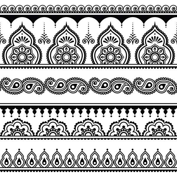 Anleitung: Henna Tattoo selber machen inkl. Muster/Motive – WOMZ – Laternen