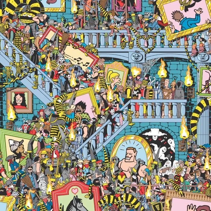 Spot the stripes! How quickly can you find Wally?
