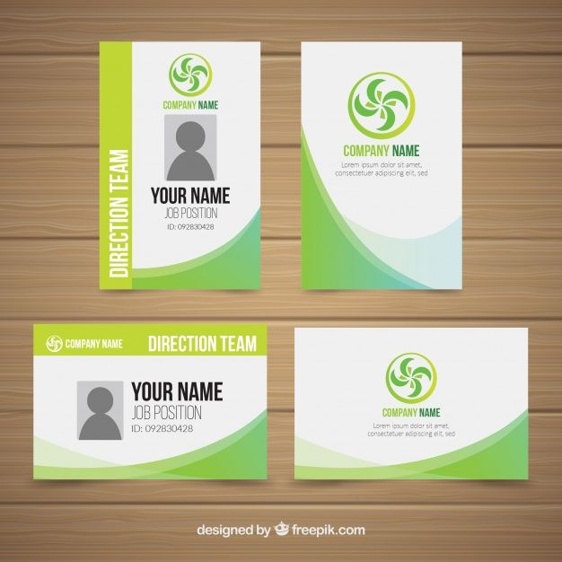 Id Card Template Id Card Template Card Template Card Templates Free