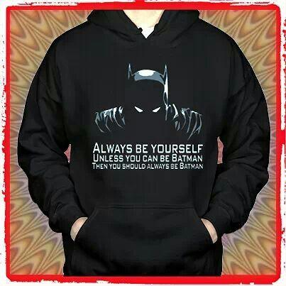 Big babg theory batman sweatshirt.