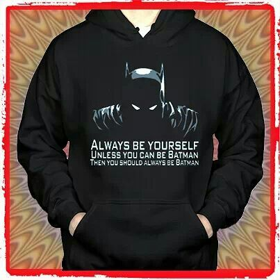 Big babg theory batman sweatshirt.