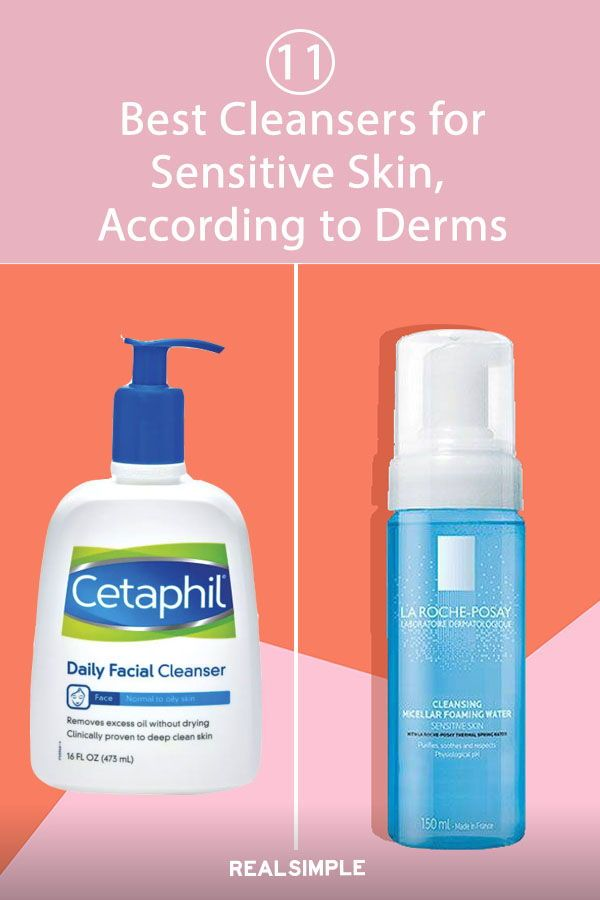 11 Best Cleansers And Face Washes For Sensitive Skin Cleanser For Sensitive Skin Cleanser Sensitive Skin Skin Cleanser Products