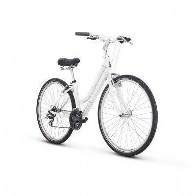 Raleigh Det2st Hybrid Comfort Bike S White Size Small Coolbikeaccessories Roadbikeaccessories Bestroadbikes Roadbikeg In 2020 Hybrid Bike Comfort Bike Raleigh Bikes