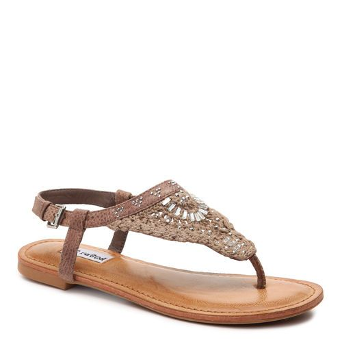 Crochet Me Down Sandal. This boho chic sandal is the perfect way to round out a boho outfit this summer! #gordmans #shoes #boho #accessories