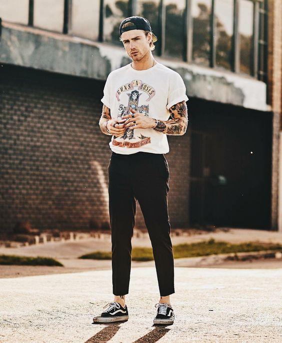 Macho Moda - Blog de Moda Masculina  TENDÊNCIAS MASCULINAS que continuam em  alta pra 2018 - Roupa de Homem. Tendências Masculinas 2018 d2e32368e2b