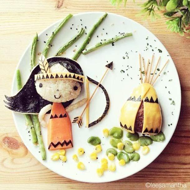 Eatzybitzy – Le Food Art créatif de Samantha Lee