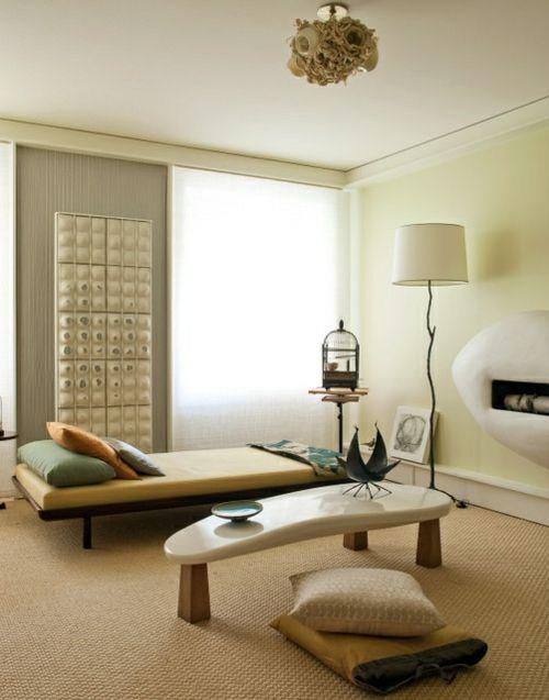Modern Minimalist Earthy Zen Living Room