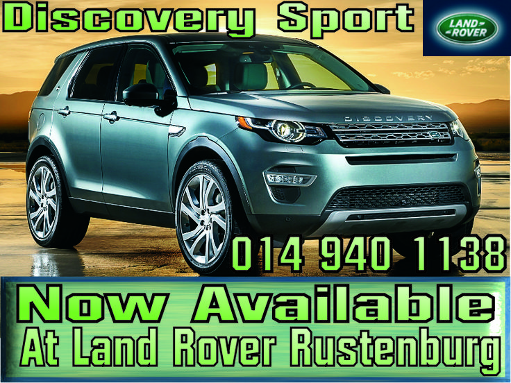 Land Rover Discovery Sport , Land Rover Rustenburg