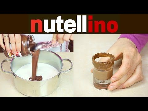 NUTELLINO Liquore alla Nutella Fatto in Casa - Homemade Nutella Liqueur Recipe - YouTube