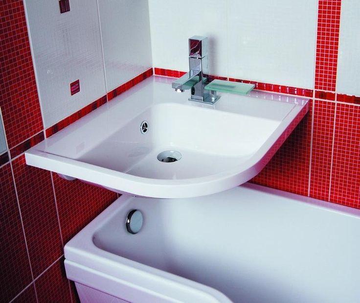 Un lavabo au dessus d 39 une baignoire c 39 est possible for Repeindre une baignoire emaillee
