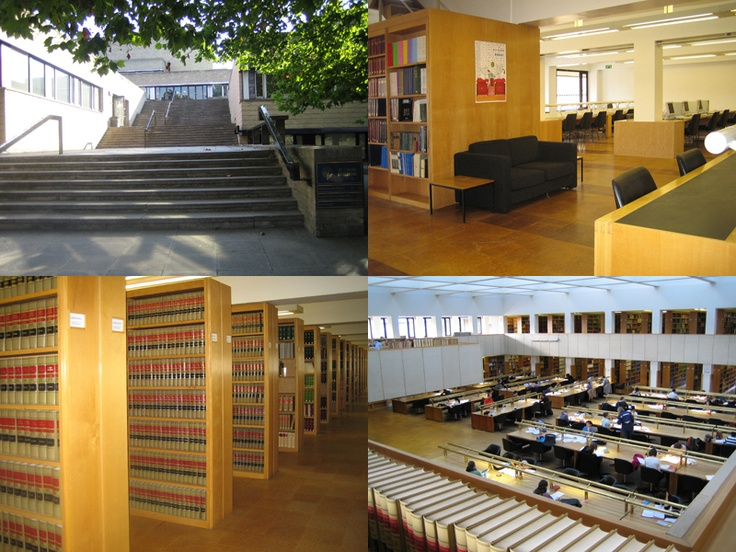 Oxford Law Faculty library