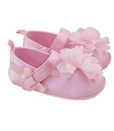 Fashion design, 100% brand new and high quality Material: Silk+ cotton Package included: 1 x shoes Girls Prewalker Toddler Cute Flower Bowtie Antiskid Shoes Sneaker
