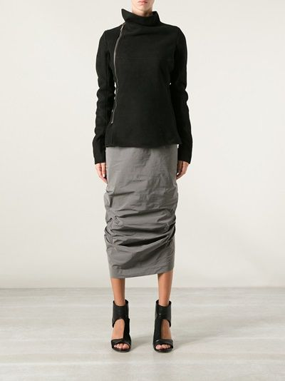 Rick Owens / ALL of it - the top the skirt and shoes is YES all OVER.
