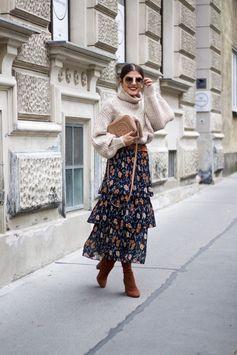 3 Astuces Pour Porter Votre Robe Fleurie Avec Style Cet Hiver Page