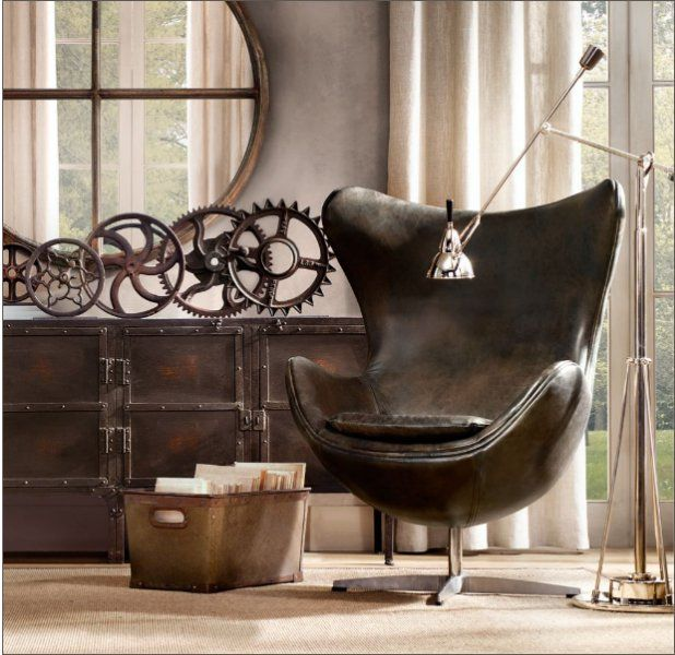 Love that chair and vintage look in this picture