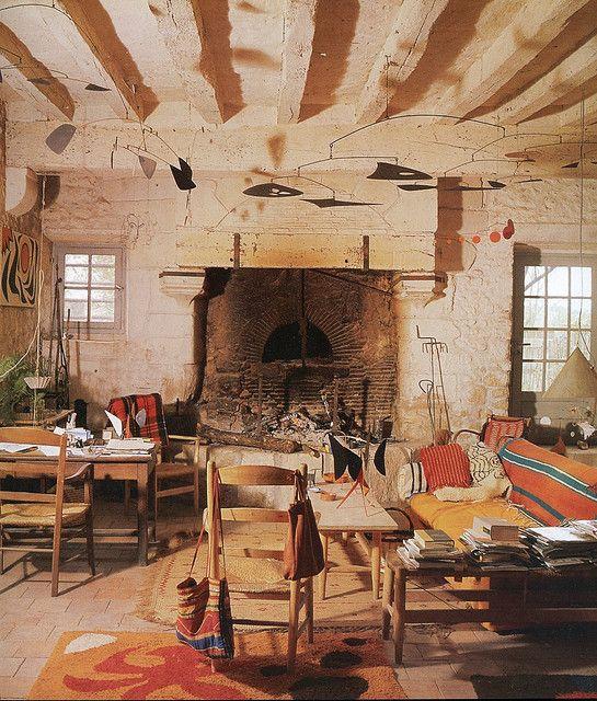 by Old Chum, via Flickr  Calder At Home: The Joyous Environment of Alexander Calder     Photography by Pedro E. Guerrero