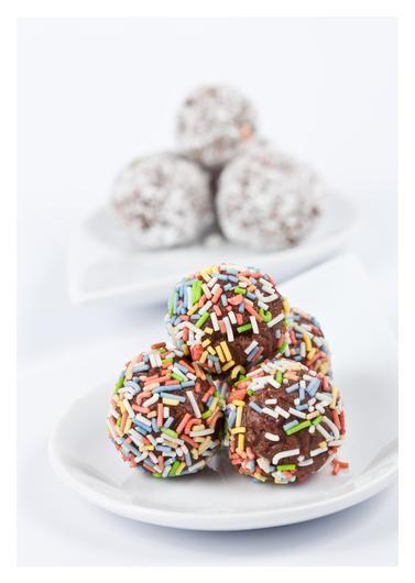 Choc Coconut Truffles