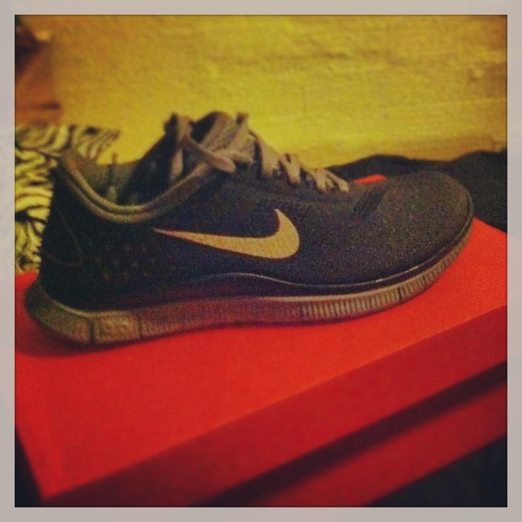 My new kicks Nike Free It's like heaven on my feet full of nikes sneakers  over off