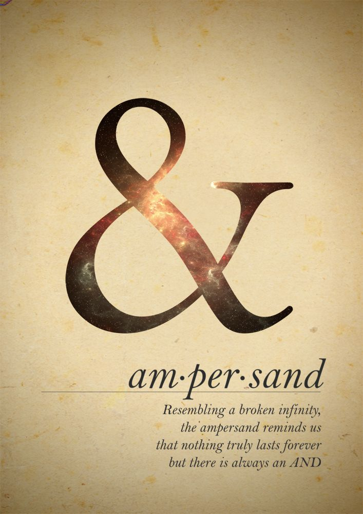 I wonder if this is why Austin picked the Ampersand sign for Of Mice & Men