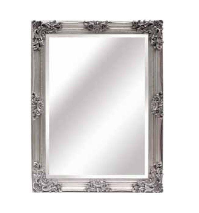 espejo rectangular plata, espejos clasicos, comprar espejos clasicos en plata, venta de espejos clasicos