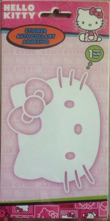 SandyLion Hello Kitty Sticker Auto Window DC794FB