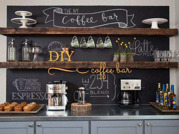 diy coffee bar, fixer upper-Mission Stone Tile