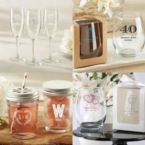 Bicchieri del Ricevimento: una gradita bomboniera per gli ospiti!