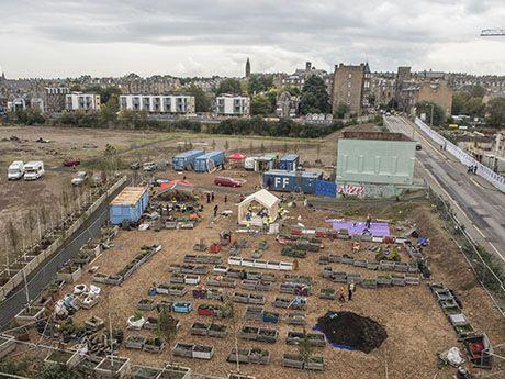 "WikiHouseEDIN // 2015 // Fountainbridge, Edinburgh // India Quay | UK's first community-use ""WikiHouse"" in Fountainbridge - India Quay"