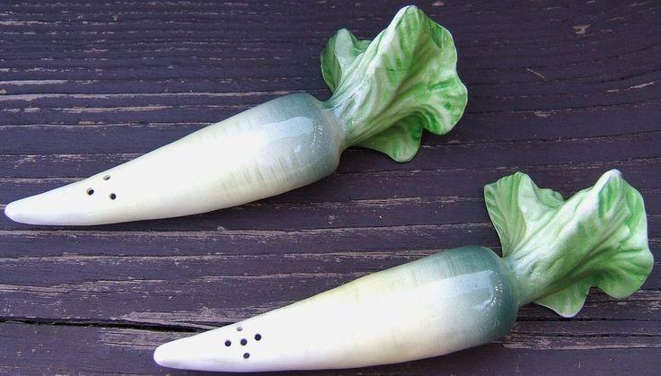 Check out Turnip Vegetable Ceramic Salt Pepper Shakers Original Price Vintage Japan 1960s  http://www.ebay.com/itm/Turnip-Vegetable-Ceramic-Salt-Pepper-Shakers-Original-Price-Vintage-Japan-1960s-/161393117694?roken=cUgayN&soutkn=jGZ0kE via @eBay