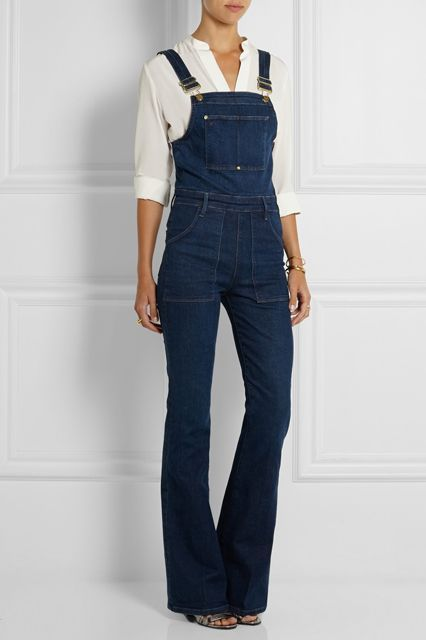 The Tomboy Way To Do Throw-On-&-Go #refinery29  http://www.refinery29.com/overalls#slide-5  ...