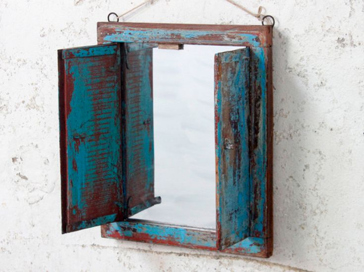 Imagine this colourful piece as an iconic feature in your home…above a fireplace, in an ornate hallway, in a bathroom or in an elegant bedroom. #vintage #mirror #unique #furniture #homedecor #homestyle