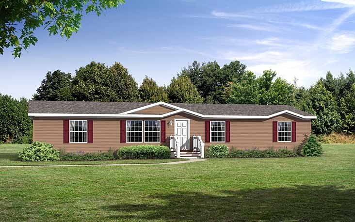 Floor plans macomb rm hs 2870 301 manufactured and for Mobile home landscape design