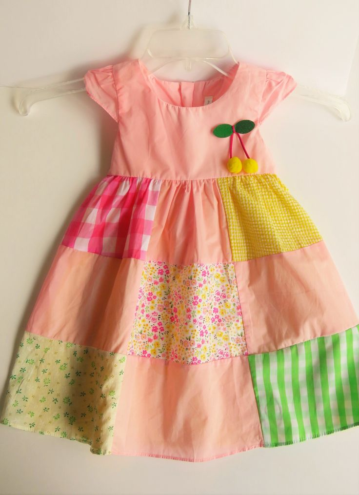 *25 sold in the last 7 days, 6 left A-line dress featuring mixed patterns - 100% Cotton