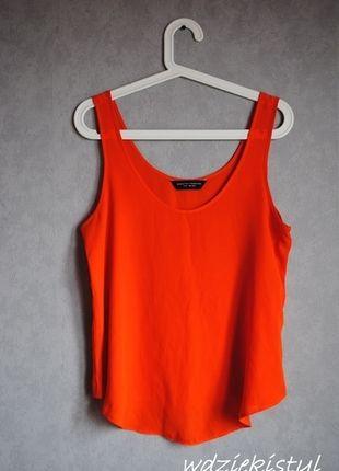 Kup mój przedmiot na #vintedpl http://www.vinted.pl/damska-odziez/koszulki-na-ramiaczkach-koszulki-bez-rekawow/12069703-pomaranczowa-koszulka-na-ramiaczkach-dorothy-perkins