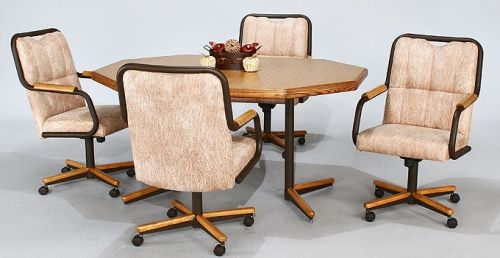 Chromcraft Dinette Sets With Casters