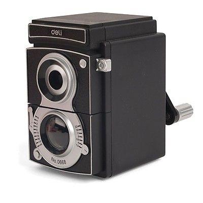 La fusión de un sacapuntas y una cámara réflex