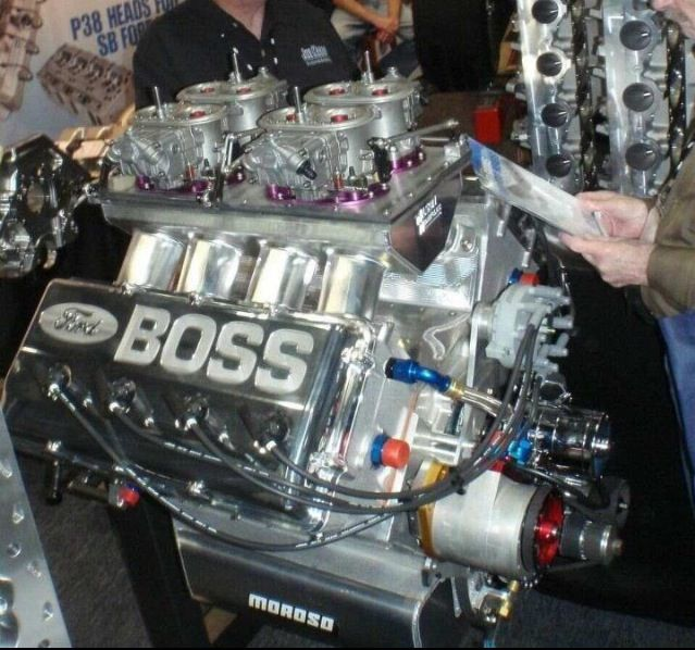 Ford 429 HEMI; the engine that got outlawed by NASCAR