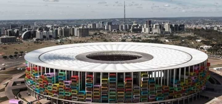 Brazil's Empty Stadiums Transformed Into Housing For Homeless.