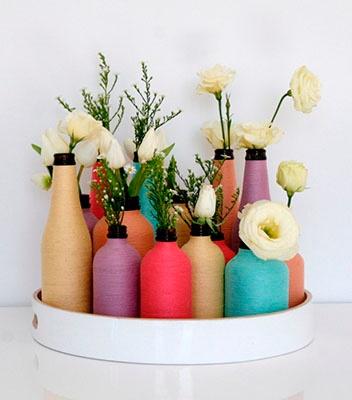 colorful spring arrangement!