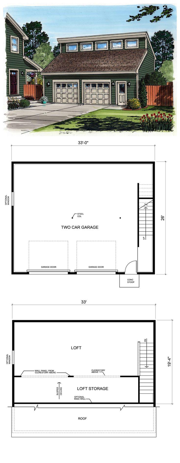 27 best two car garage plans images on pinterest garage plans contemporary garage plan 30011 garage planscar