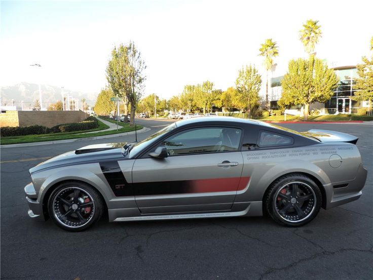 2008 Mustang Gt 0 60 >> 2008 FORD MUSTANG GT CUSTOM 2 DOOR COUPE - Barrett-Jackson Auction Company - World's Greatest ...