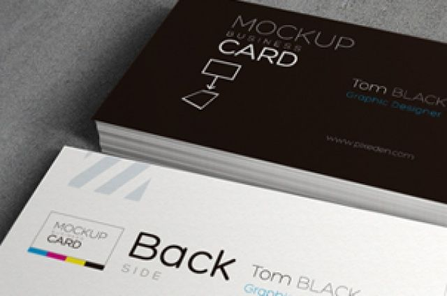Our new psd business card mock-up template is the best way to showcase your corporate design. With a simple drag and...