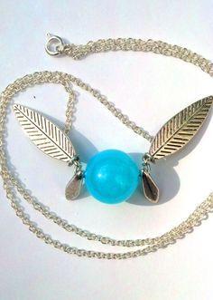 Legend of Zelda Naviinspired fairy necklace