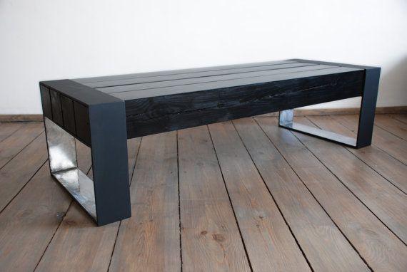 THE DEVIL A custom made solid wood coffee table от Poppyworkspl